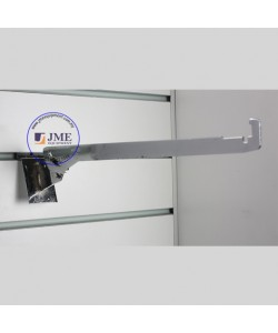 Slat Wall Adjustable Glass Shelve Bracket