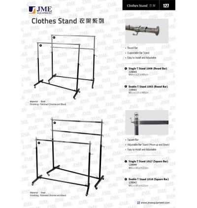 Round Bar Single T Stand 120043