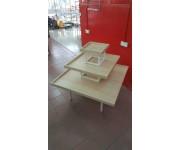 Oppa - 3 Level Fountain Table Square White