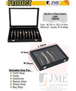 (JME)Necklace Accessories Glass Display Case