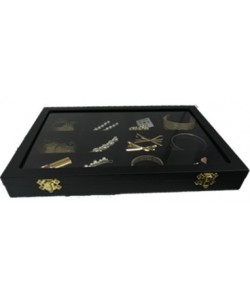 (JME)Kotak Glass Pameran Accessories 12 Petak