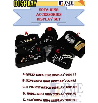 (JME)Ring & Accessories Queen Display