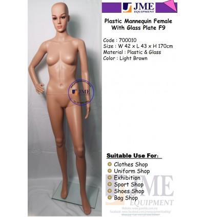 Plastic Mannequin Female F9