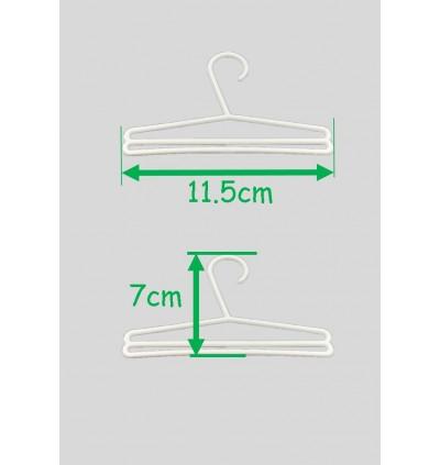 MINI Hanger Tudung Scaf fabric kain shawl tudung bawal 10Pcs