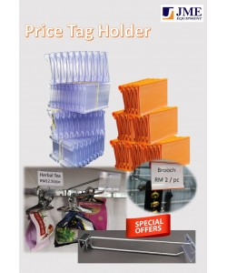 SPECIAL PROMORION Price Tag Holder with 10 inch Bar HooK and 8 inch Netting Hook